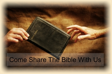 Come Share The Bible With Us